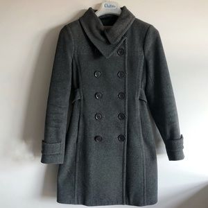 Wilfred (Aritzia) Grey Wool and Cashmere Long Coat